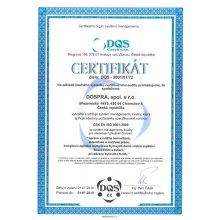 Certifikáty kvality našich služeb